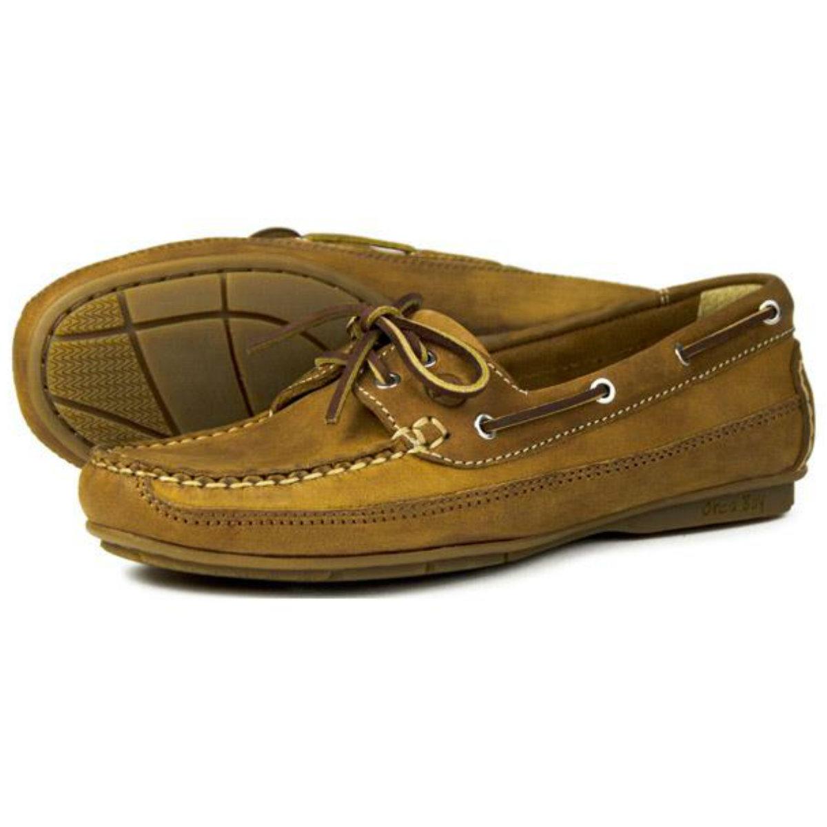 8ec97e6d925a1 Orca Bay Ladies Deck Shoes – Bahamas (Sand) – Muddy-Footprints